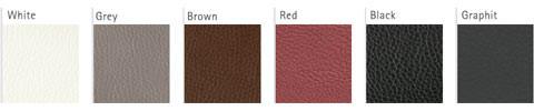 Leder Farbvarianten für Blendrahmen